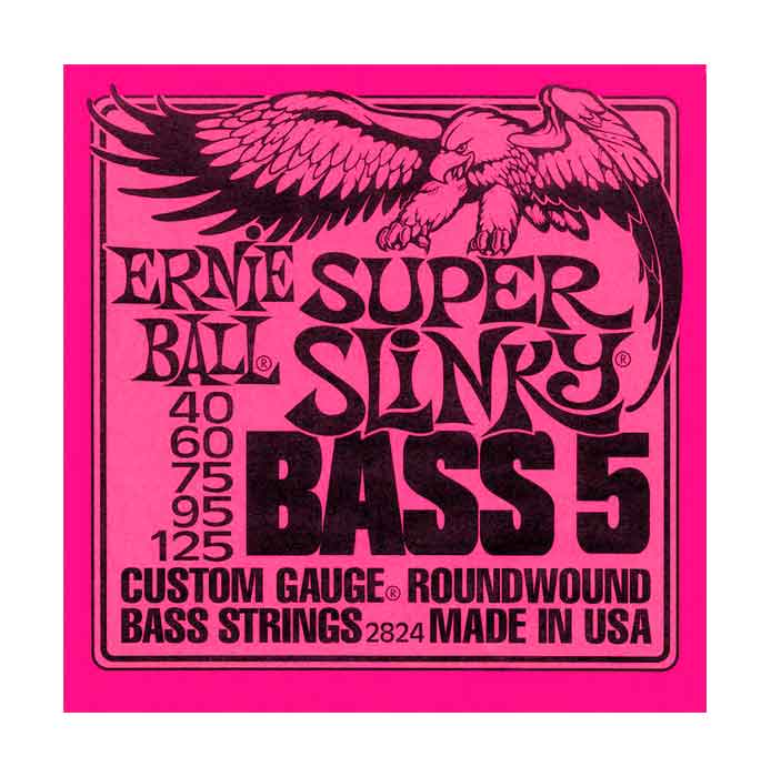 Strenger for 5-strengs bass