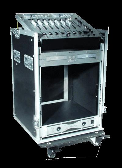 Rack-kasser og stativer