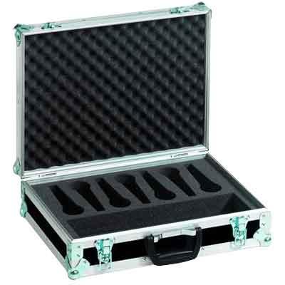 Mikrofon-kasser og bagger