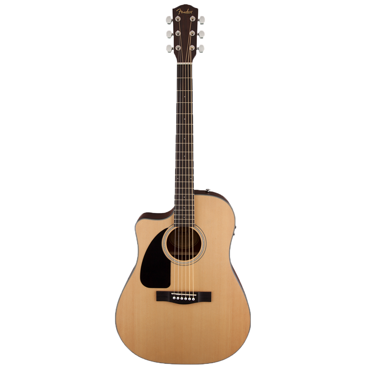 Venstrehendt western-gitar