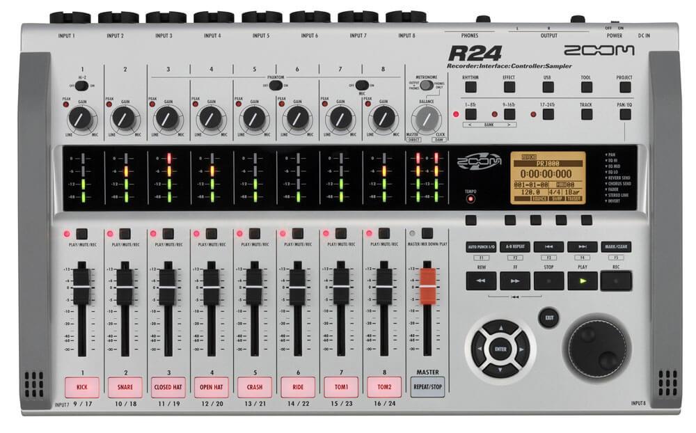 Bilde av Zoom R24 Harddisk-recorder / Audio Interface