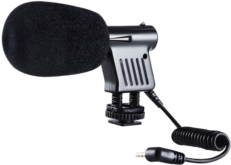 Bilde av Boya By-vm01 Kondensator-kamera-mikrofon