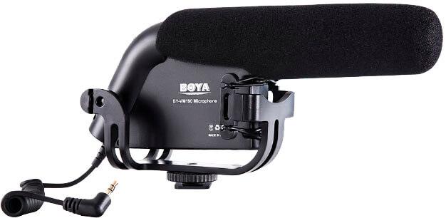 Bilde av Boya By-vm190 Kondensator-kamera-mikrofon