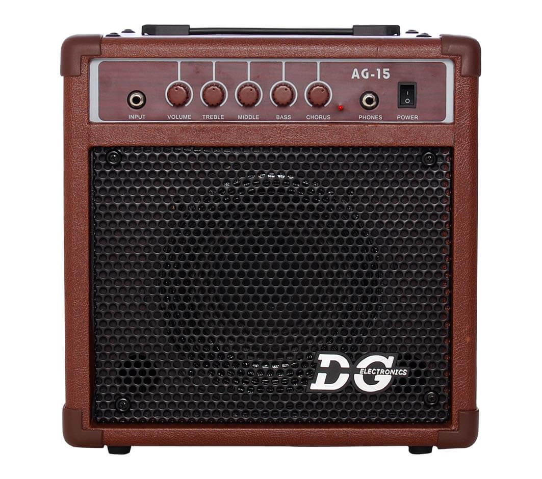 Bilde av Dg Electronics Ag-15 Akustisk Gitarforsterker