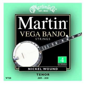 Bilde av Martin V720 Tenor-banjo-strenger, 4-strenget