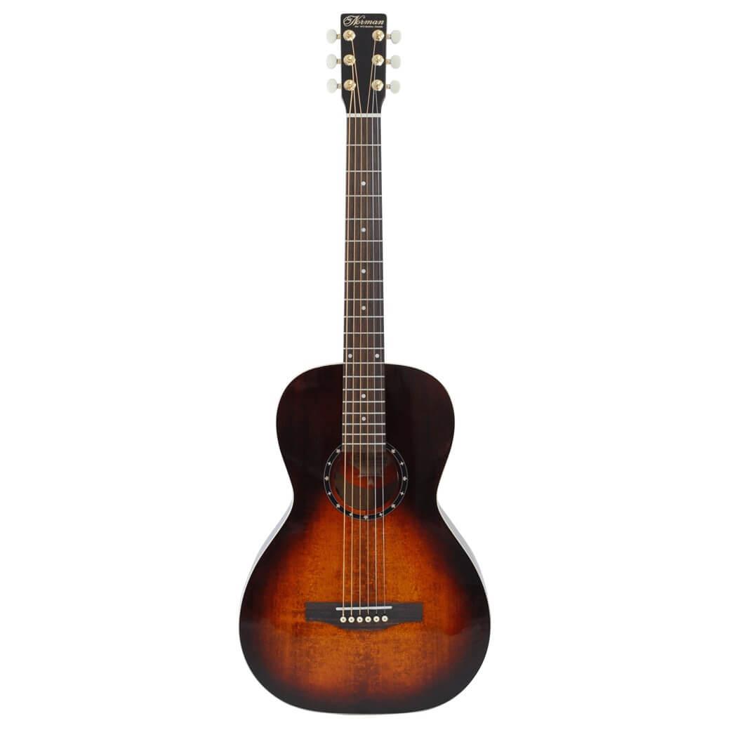 Bilde av Norman Studiost40parlorgha/e Western-gitar Burntumber