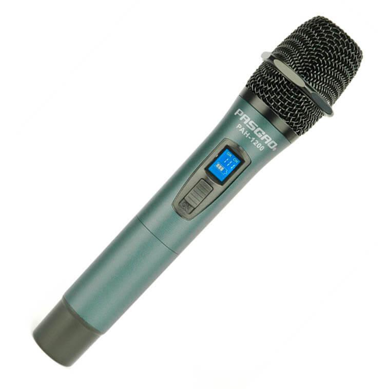 Bilde av Pasgao Pah-1200(655-679mhz) Trådløs Håndholdt Mikrofon
