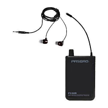 Bilde av Pasgao Pv-60r Lommemottaker Med Høretelefon