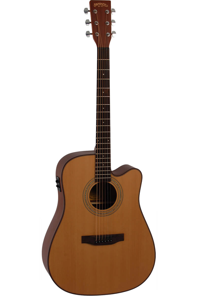 Bilde av Santana La-100cwisys Western-gitar Natur