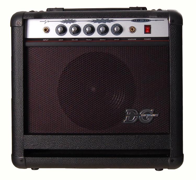 Bilde av Dg Electronics Gb-30 Bassforsterker 4