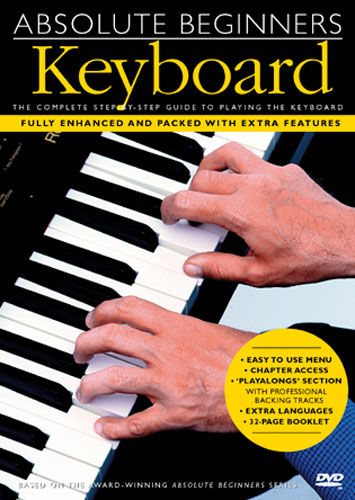 Bilde av Absolutebeginners:keyboard Dvd