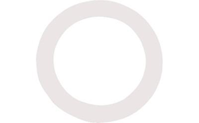 Bilde av Remo Dm-0005-01dynamo5½ Ring For Basstrommeskinn-hul Hvit