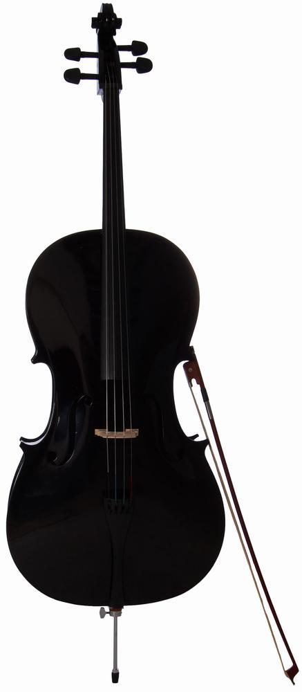 Bilde av Arvada Mc760l-bk Cello 4/4 Sort