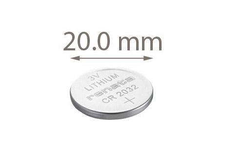 Bilde av Cr2032 Lithium-knappcelle-batteri (1 Stk.)