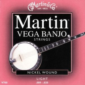 Bilde av Martin V700 Banjo-strenger, 5-strenget