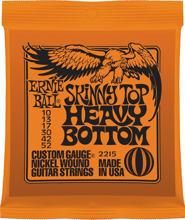 Bilde av Ernie Ball 2215 skinny-top-heavy-bottom El-gitar-strenger, 010-052