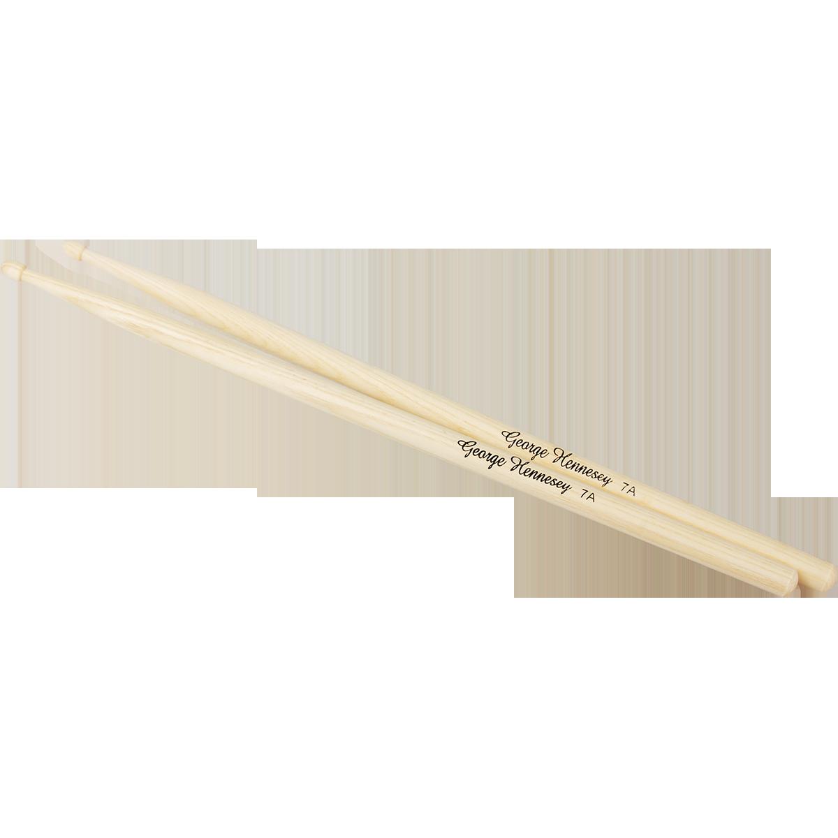 Bilde av George Hennesey Hickory-7a Trommestikker, Hickory (par)