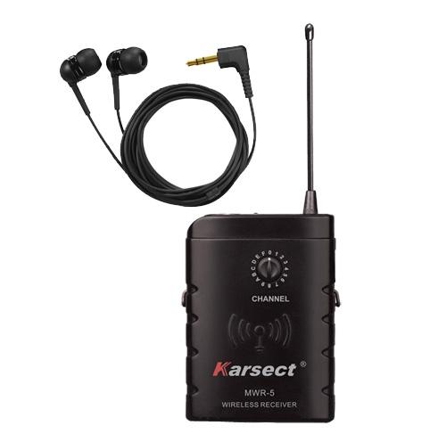 Bilde av Karsect Mwr-5 Trådløs In-ear Monitor-mottaker