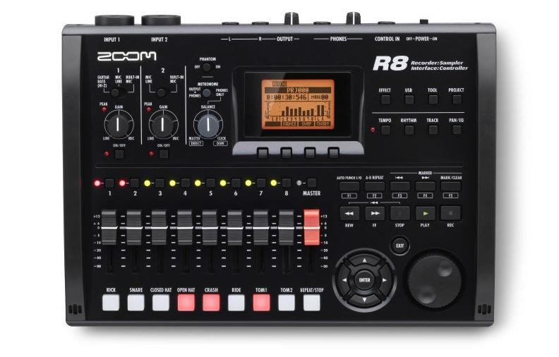 Bilde av Zoom R8 Harddisk-recorder / Audio Interface