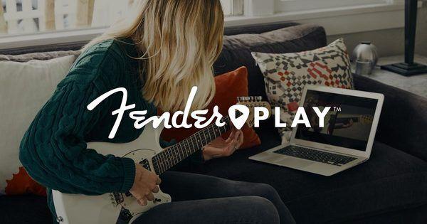 Fender Play lærer deg å spille!