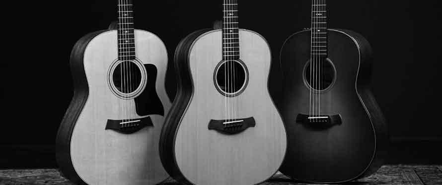 Nye Grand-Pacific-modeller fra Taylor Guitars